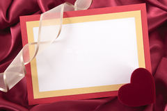Valentine card Royalty Free Stock Images