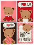 Valentine Card. Vector File EPS10 Royalty Free Stock Image