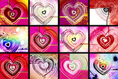 Valentine Cards Stock Images