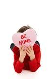 Valentine child Stock Photo