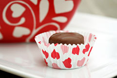 Valentine Chocolate Royalty Free Stock Photo