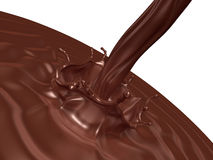 Valentine chocolate 3d art Royalty Free Stock Photos