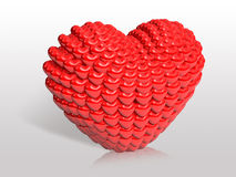 Valentine chocolate 3d art Royalty Free Stock Photo