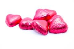 Valentine chocolate Royalty Free Stock Photos