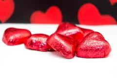 Valentine chocolate Royalty Free Stock Image