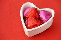 Valentine Chocolates Stock Photos