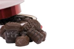 Valentine Chocolates 3 Royalty Free Stock Photography