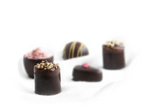 Valentine Chocolates Stock Photo