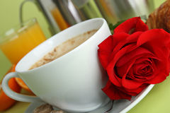 Valentine coffee Royalty Free Stock Image