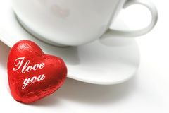 Free Valentine Coffee Royalty Free Stock Photo - 4257575