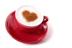 Valentine coffee Royalty Free Stock Images