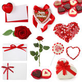 Valentine collection Royalty Free Stock Photo