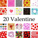 Valentine collection Stock Photos
