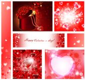 Valentine collection Royalty Free Stock Images