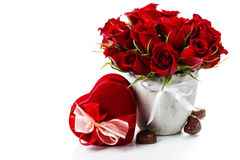 Valentine composition Royalty Free Stock Photos