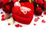 Valentine composition Royalty Free Stock Images
