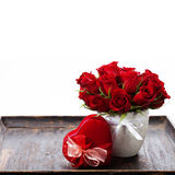 Valentine composition Royalty Free Stock Photography