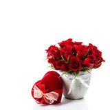 Valentine composition Royalty Free Stock Image