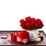 Valentine composition Stock Image