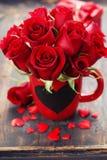 Valentine composition Stock Photos