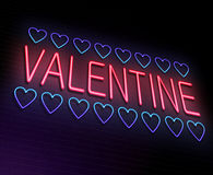 Valentine concept. Royalty Free Stock Photography