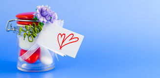 Valentine Confetti Royalty Free Stock Image