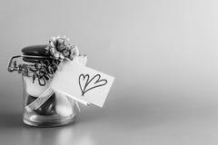 Valentine Confetti Stock Image