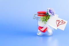 Valentine Confetti Stock Photo