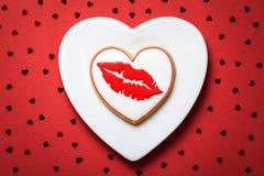 Valentine Cookie Stock Photos