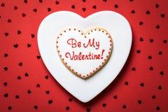 Valentine Cookie Stock Photo