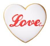 Valentine Cookie Stock Photography