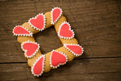 Valentine cookie Royalty Free Stock Photo