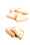 Valentine cookies Royalty Free Stock Image