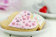 Valentine cookies Royalty Free Stock Photo