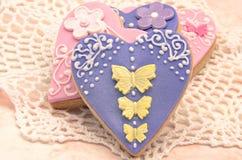 Valentine cookies Stock Photos