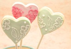 Valentine cookies Royalty Free Stock Photo