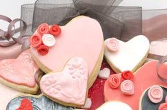 Valentine cookies Stock Image