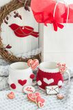 Valentine cookies Royalty Free Stock Photography