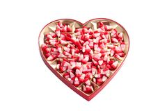 Valentine corn candy Royalty Free Stock Photo