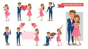 Valentine Couple Fotografie Stock Libere da Diritti