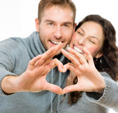 Valentine Couple Stock Images