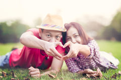 Valentine Couple Fotografia Stock