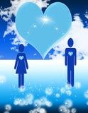 Valentine Couple Stock Image