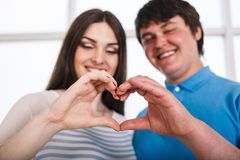 Valentine Couple Royalty Free Stock Image