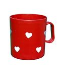 Valentine cup Royalty Free Stock Photo