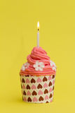 Valentine Cupcake Lizenzfreie Stockfotos