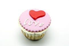 Valentine cupcakes Stock Image