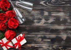 Valentine-dag romantische achtergrond royalty-vrije stock afbeelding