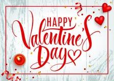 Valentine-dag van letters voorziende achtergrond stock illustratie