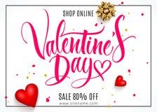 Valentine-dag van letters voorziende achtergrond vector illustratie